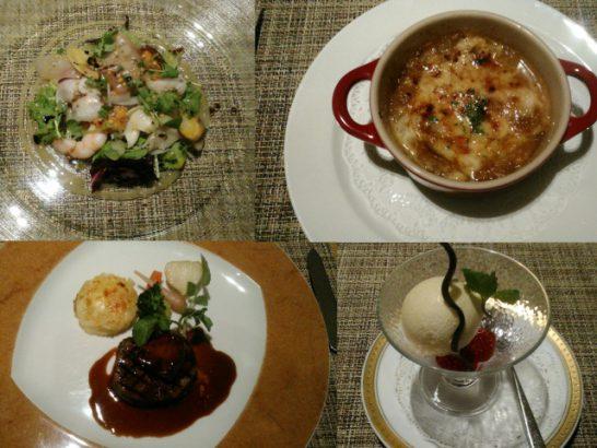仙台ロイヤルパークホテルのディナー
