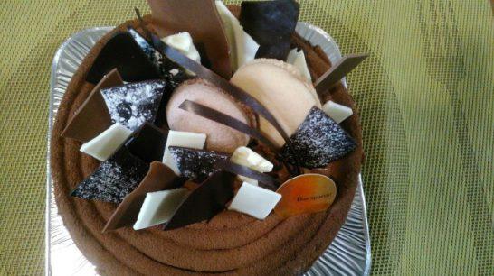 美味しいショコラケーキ